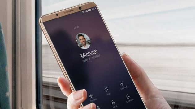 Huawei Mate 10 Pro: arriva il face unlock