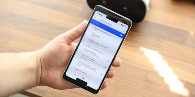 Android P: supporto al doppio notch in arrivo