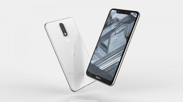 Trapelate alcune immagini di Nokia 5.1 Plus, con Android One e ampio notch