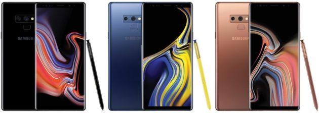 Ennesima conferma dell'esorbitante costo di Samsung Galaxy Note 9