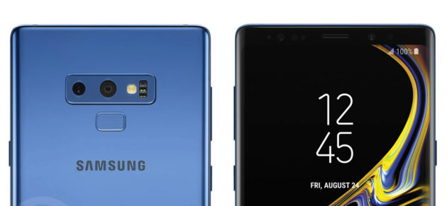 Un nuovo hands on per Samsung Galaxy Note 9