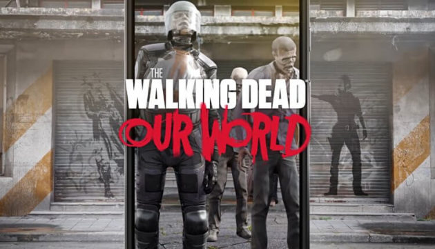 The Walking Dead: Our World, il gioco in Realtà Aumentata disponibile gratuitamente su Play Store