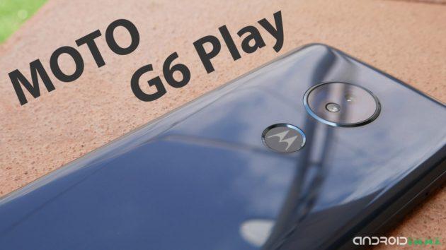 Moto G6 Play, ottima autonomia e design elegante a meno di €200 | Recensione