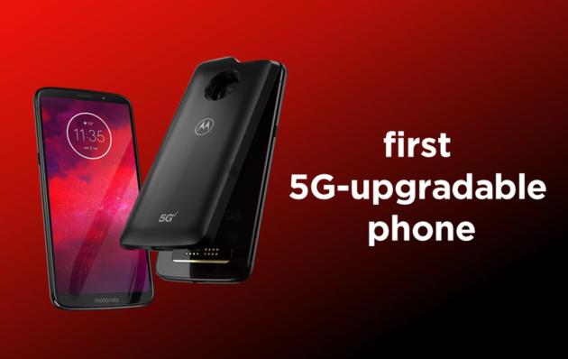 Il 5G arriva su Moto Z3 grazie ad una Moto Mod