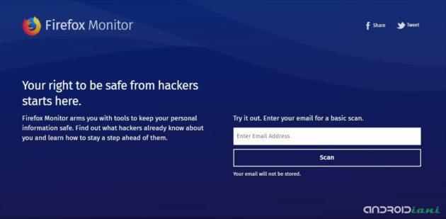 Firefox Monitor: i vostri account sono al sicuro?