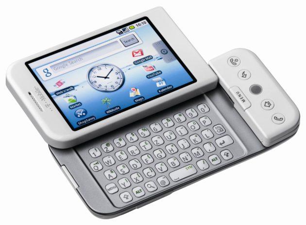 Il primo telefono Android, il T-Mobile G1, compie 10 anni.