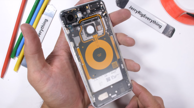 Pixel 3 Transparent Edition by JerryRigEverything