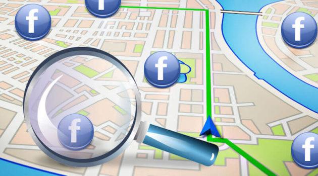 Facebook sta testando una mappa interattiva per la funzione amici nelle vicinanze