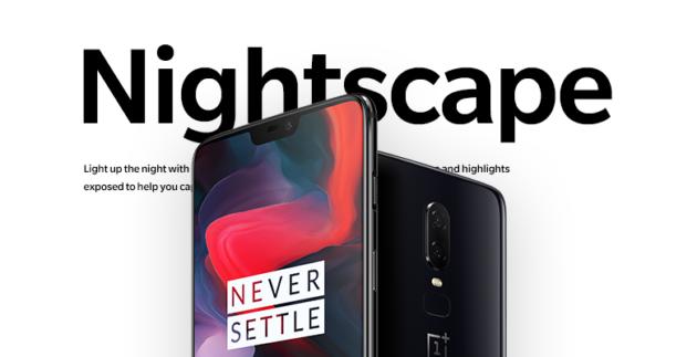 OnePlus 6: Nightscape in arrivo con l'ultima Open Beta di OxygenOS