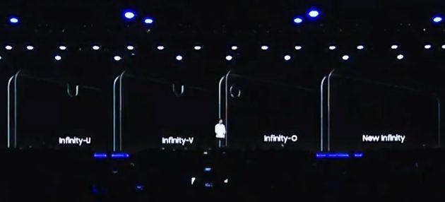 Samsung Infinity-O Display: ecco le presunte foto