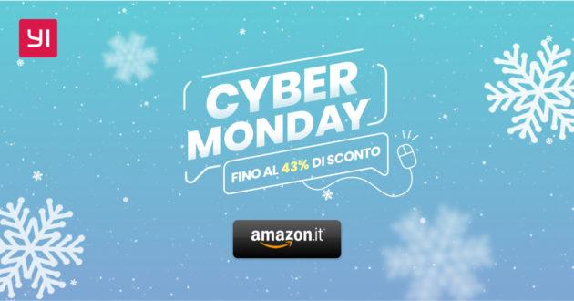 Cyber Monday: YI IP Camera, Dash Cam e Action Cam in sconto fino al 43%