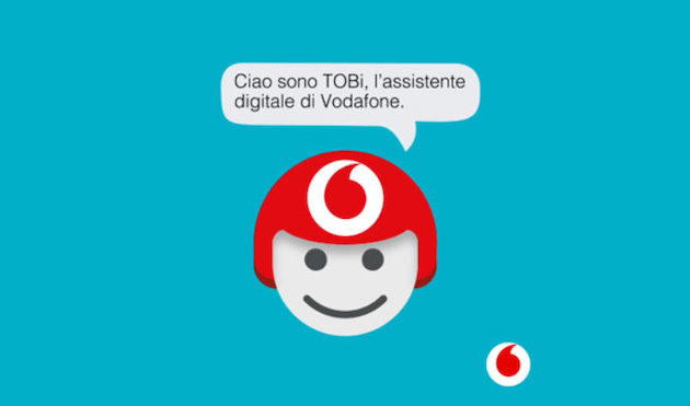 Vodafone: l'assistente virtuale TOBi sbarca su Whatsapp