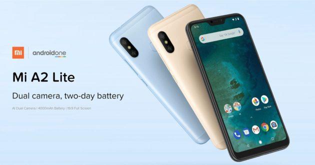 Xiaomi Mi A2 Lite: in distribuzione Android 9 Pie Italia
