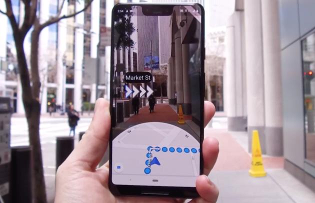 Google Maps: arriva la navigazione in realtà aumentata