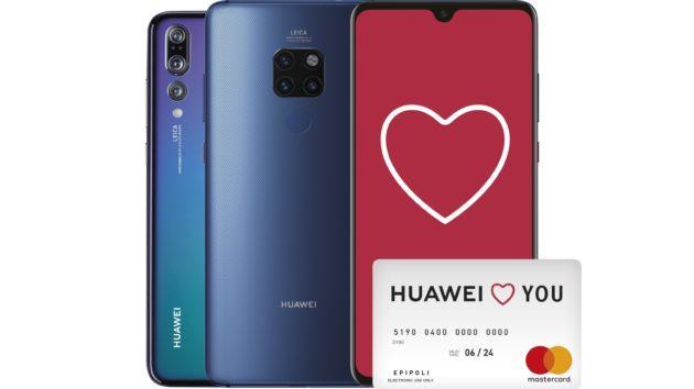 Huawei Mate 20 e P20 Pro: al via la promozione per San Valentino