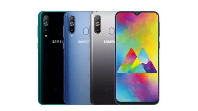 Samsung Galaxy M30: render conferma le specifiche e display Infinity-V