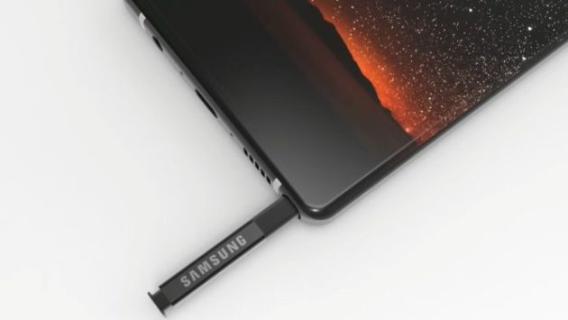 Samsung Galaxy Note: un futuro senza fotocamera frontale?