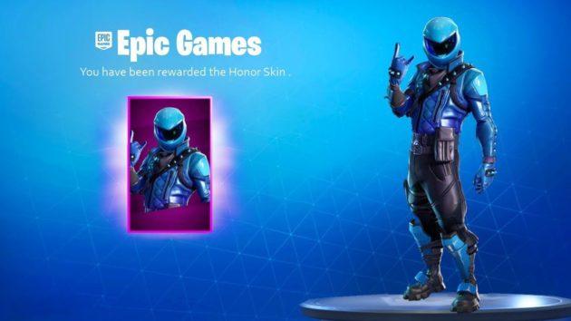 Honor Guard, la skin di fortnite è di nuovo disponibile, ecco come averla