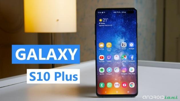 Samsung Galaxy S10 Plus è quello da battere  Recensione