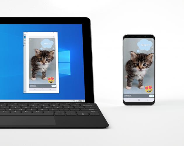 Microsoft inizia a testare il mirroring Android