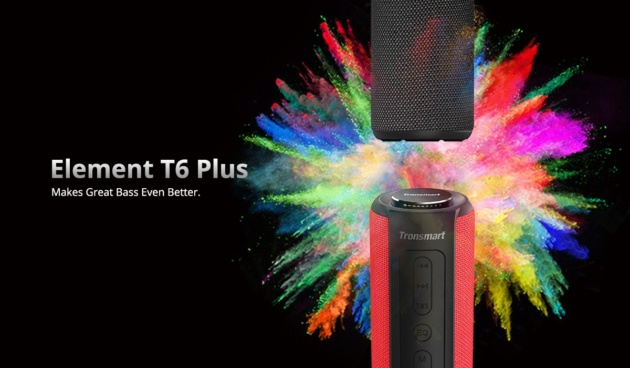 Tronsmart Element T6 Plus: Speaker Bluetooth da 40W
