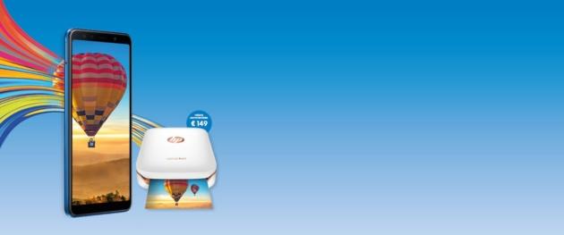 Samsung: stampante HP Sprocket omaggio con l'acquisto di un Galaxy A o J