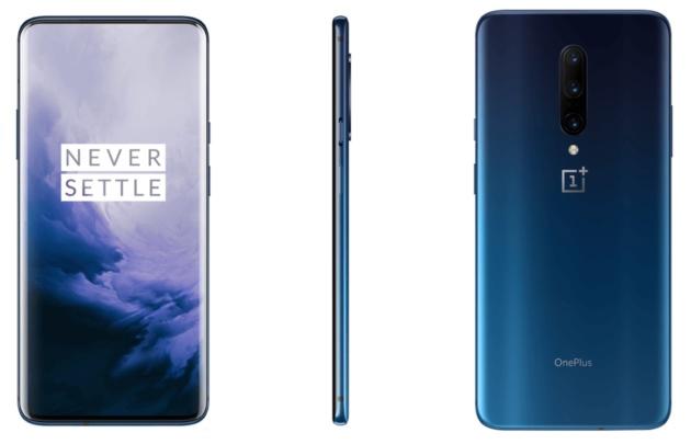 OnePlus 7 si mostra in Nebula Blue e Mirror Grey in nuovi render ufficiali