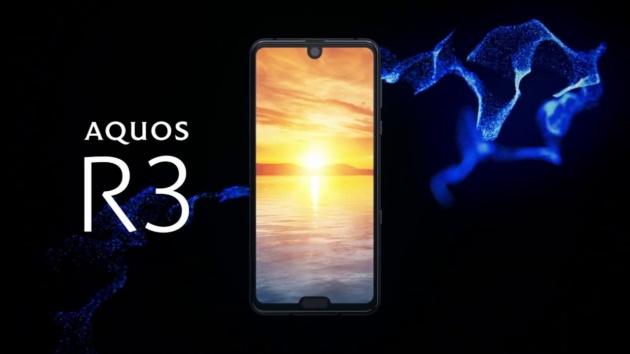 Sharp Aquos R3 Ufficiale: display con doppio notch, 6 GB di RAM e Snapdragon 855
