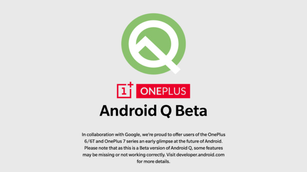 OnePlus 6 e 6T: disponibile la beta di Android Q | DOWNLOAD