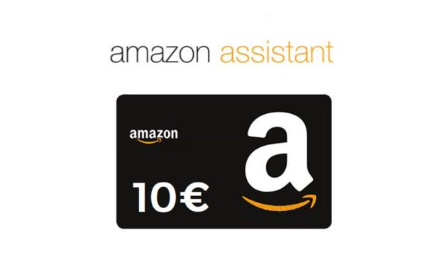 Amazon vi regala 10€ installando l'estensione Assistant