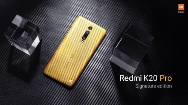 Redmi K20 Pro, ufficiale la Signature Edition in oro puro da oltre 6000€
