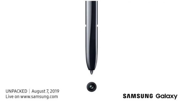 Samsung Galaxy Note 10 sarà presentato il 7 agosto