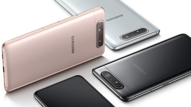 Samsung Galaxy A80: disponibile da oggi in Italia a 679€