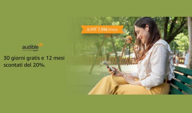 Amazon Audible in super offerta per i clienti Prime