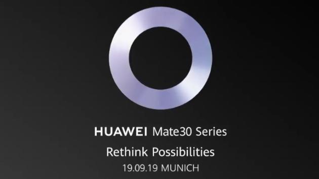 Huawei Mate 30 debutterà il 19 settembre - VIDEO