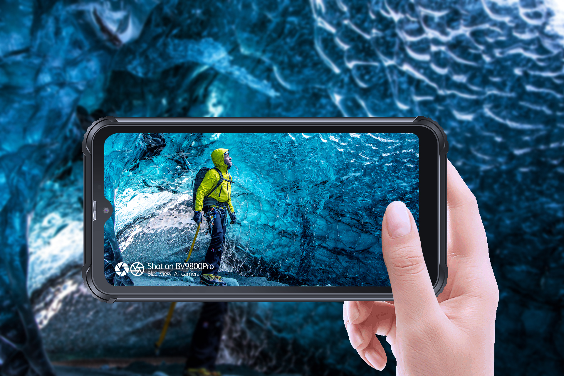 The Blackview BV9800 Pro is the world's first rugged phone with a 48MP camera and thermal camera 1