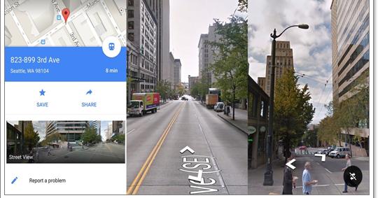 Google Maps per Android aggiunge la funzione Street View
