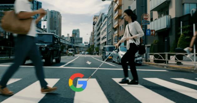 Google Maps aggiunge una guida vocale per i non vedenti