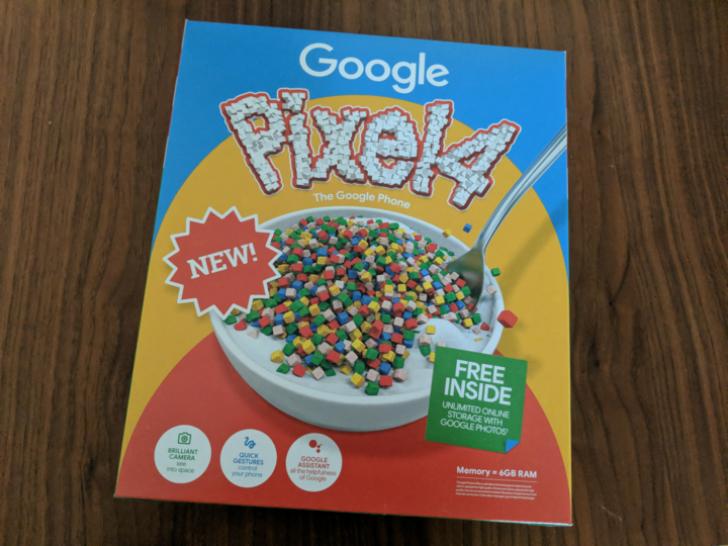 pixel 4 box