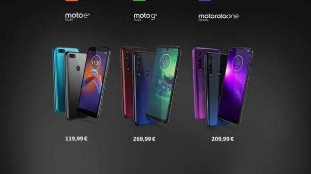 Motorola Moto G8 Plus, ONE Macro e Moto E6 Play: in Italia a novembre da 119,99€