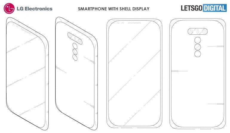 LG proverà a stupirvi con i display a conchiglia (2)