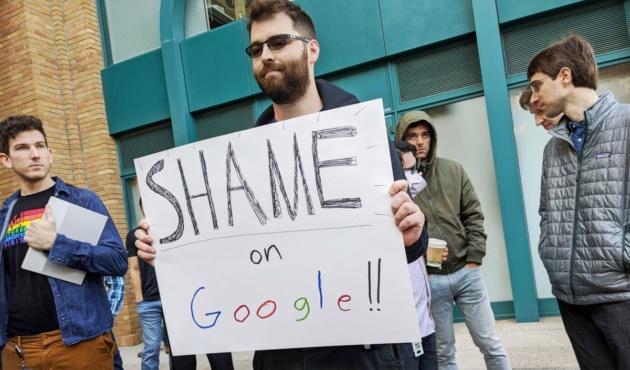 Google pone resistenza alle organizzazioni e diritti dei dipendenti