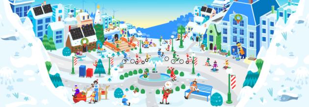 Google e Babbo Natale si uniscono per portare lo spirito natalizio