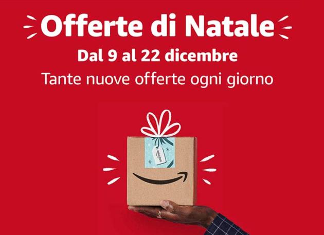 Offerte Natale Amazon: ecco i migliori sconti fino al 22 Dicembre