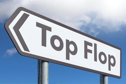 La lista dei top flop dell'ultimo decennio