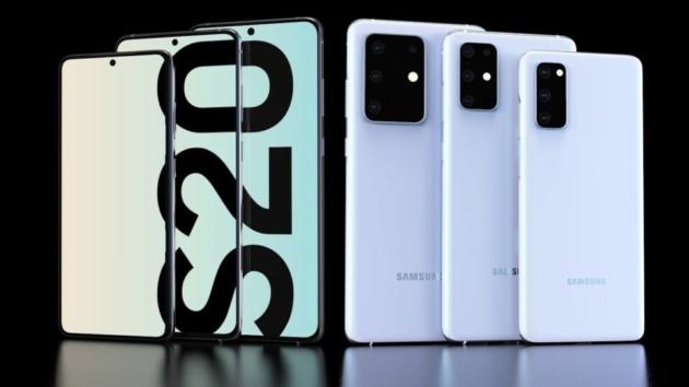 Samsung Galaxy S20: svelato il design ufficiale