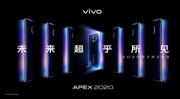 Vivo APEX 2020 5G: Snapdragon 865 e design da urlo