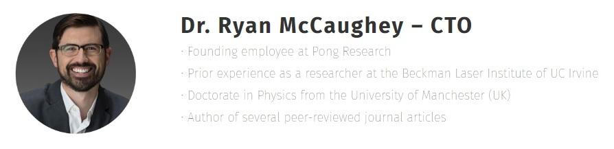 Dr Ryan McCaughey
