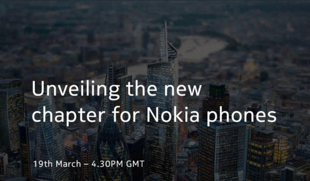 HMD Global presenterà i nuovi Nokia giovedì 19 marzo in live streaming