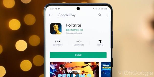 Fortnite arriva ufficialmente sul Play Store!